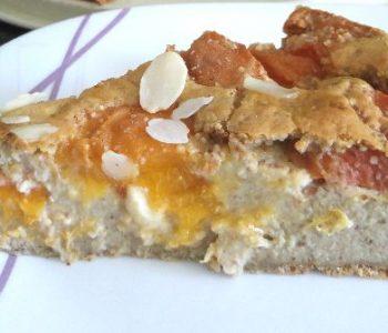 Gâteau fondant à l'abricot et à la cannelle