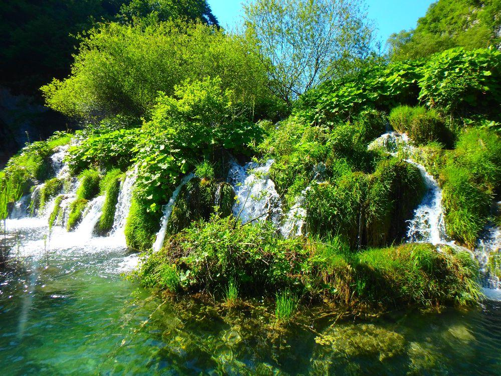 lacs plitvice croatie