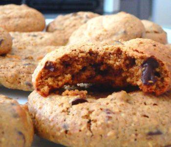 Cookies sans beurre, sans sucres raffinés ni gluten