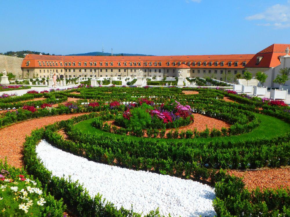 bratislava chateau et jardin