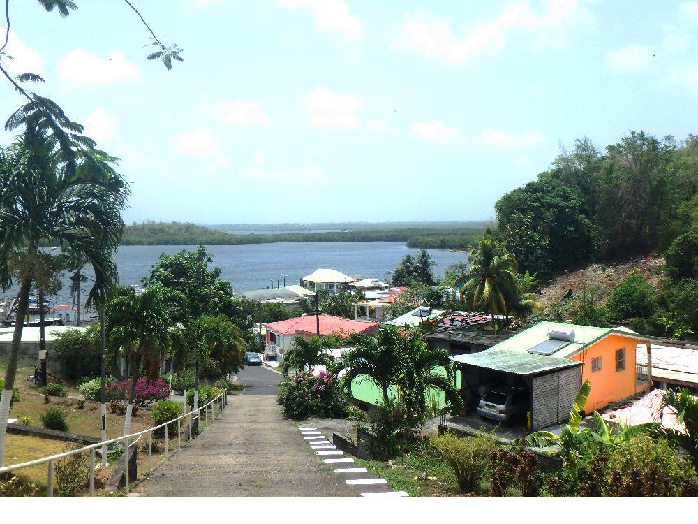 Le village de pêcheur de Vieux Bourg en Guadeloupe