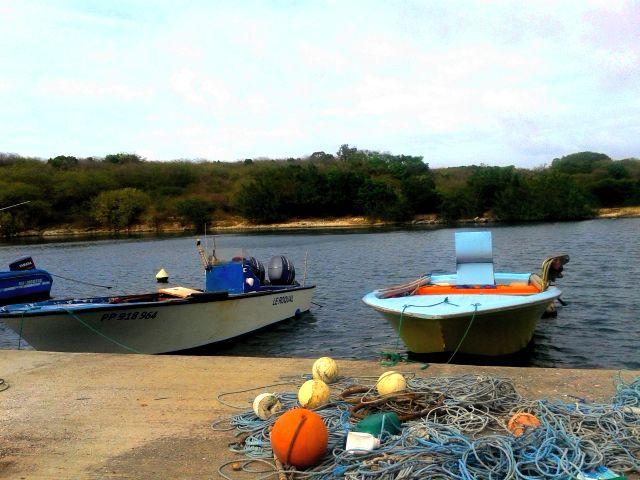 Le village de pêcheur de Petit Bourg en Guadeloupe