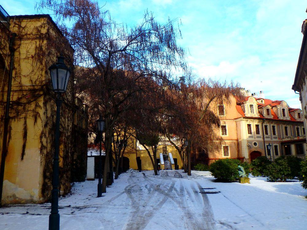 La presuq'ile de Kampa, Prague