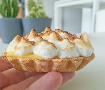 Tartelettes au citron meringuées healthy