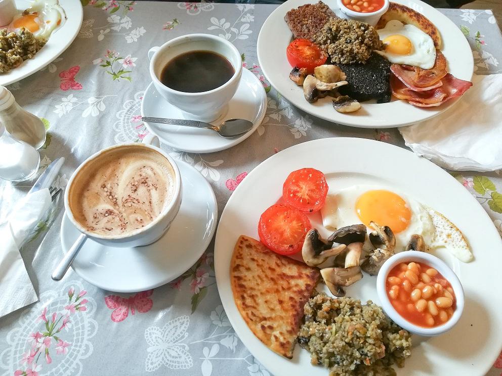 scottish breakfast ou petit déjeuner écossais