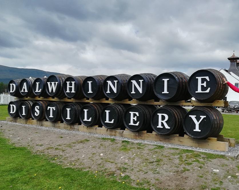 Une des distilleries ecossaise parmi les plus connues : La distillerie Dalwhinnie