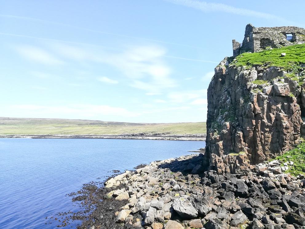 Le château de Duntulm, fief d'un clan écossais sur l'Ile de Skye