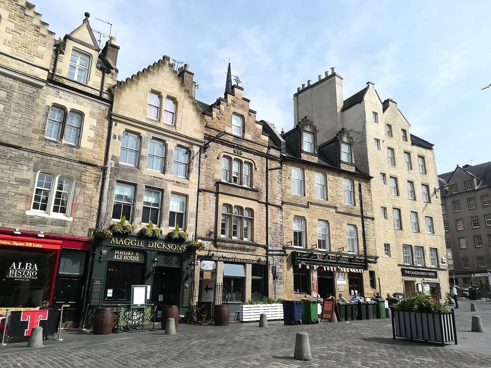 La Old Town, ou Vieille ville d'Edimbourg