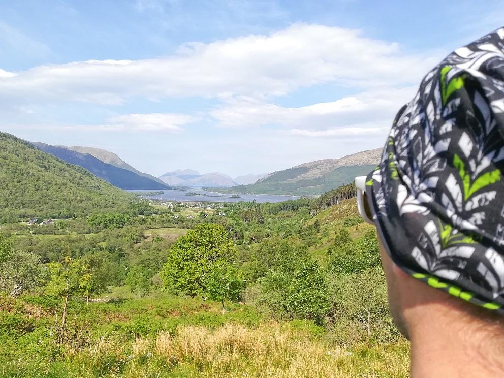 Vue sur le village de Glencoe, au départ de la randonnée du Pap Of Glencoe