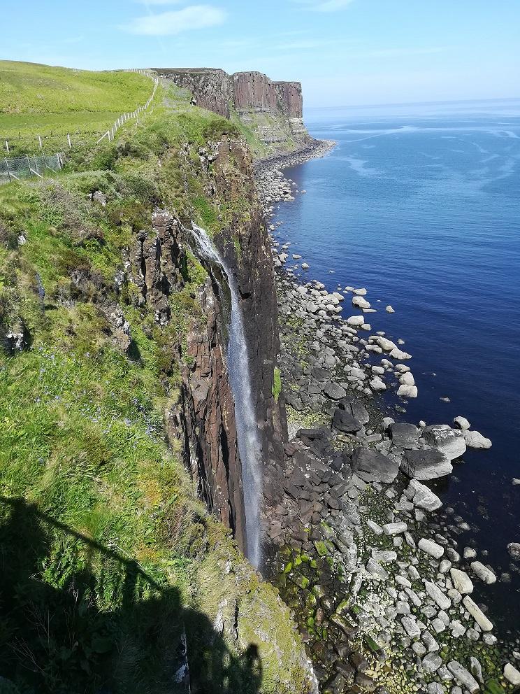 La cascade de Kilt Rock sur l'Ile de Skye en Ecosse
