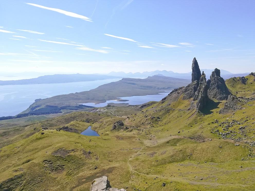 Magnifique Old Man Of Storr sur l'Ile de Skye