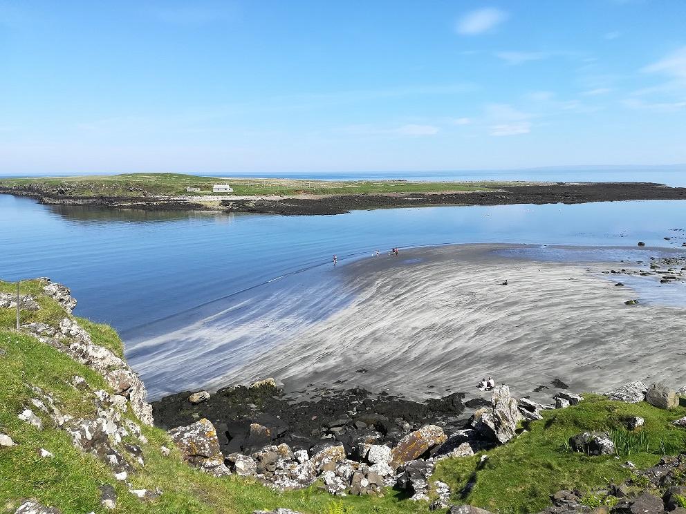 La baie de Staffin sur l'Ile de Skye