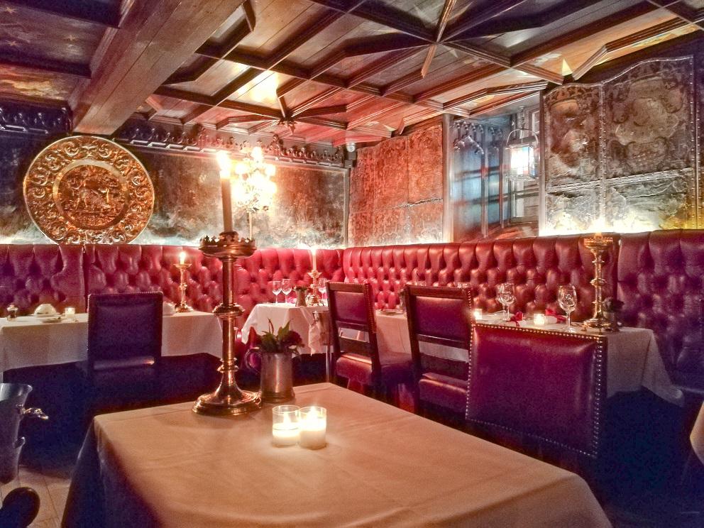 Le donjon de the Witchery, un restaurant de la Vieille ville d'Edimbourg