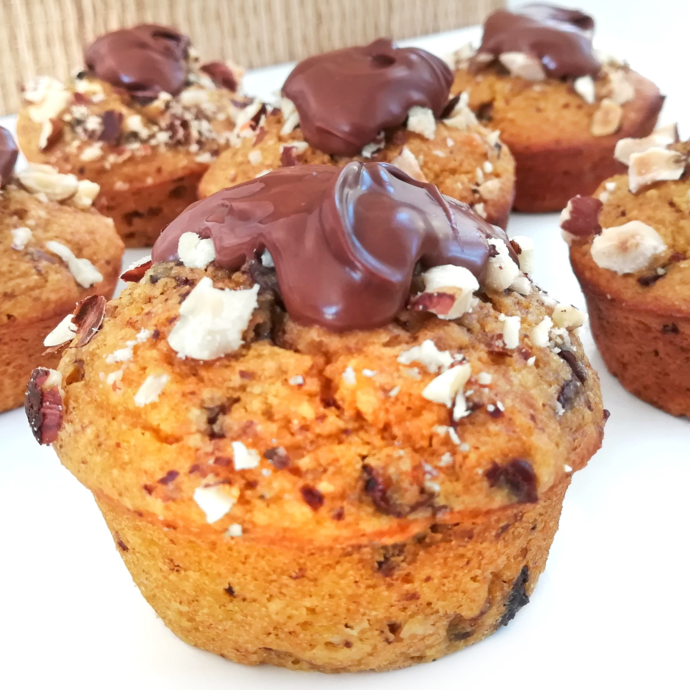 De délicieux muffins à la courge butternut et aux pépites de chocolat, ultra gourmands