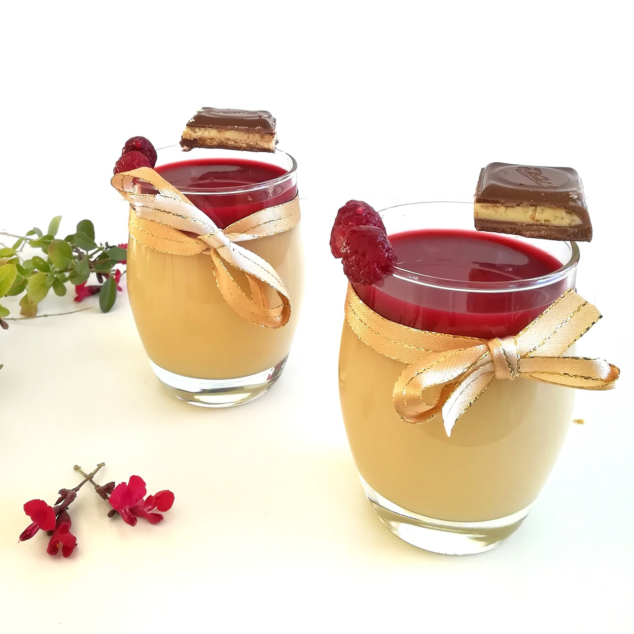 verrine panna cotta fruits rouges
